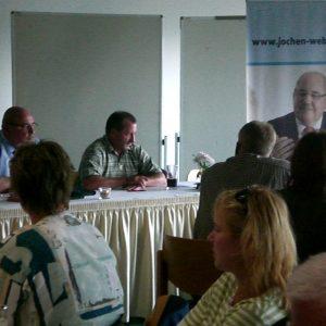 Jochen Weber im Gespräch mit den Personalräten der Stadt Hagen